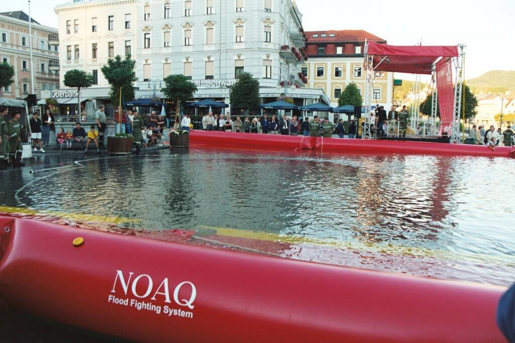 NOAQ Tubewall – Air Filled Flood Barrier