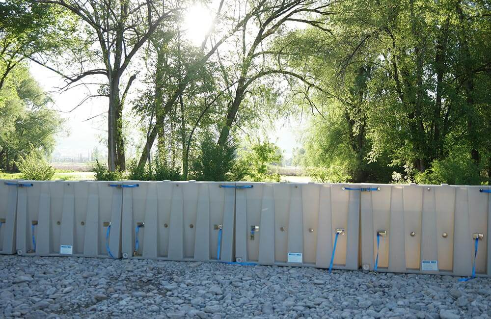 reusable flood barriers