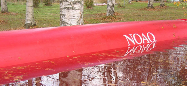 NOAQ Tubewall – Air Filled Flood Control Barrier Deploys Easily