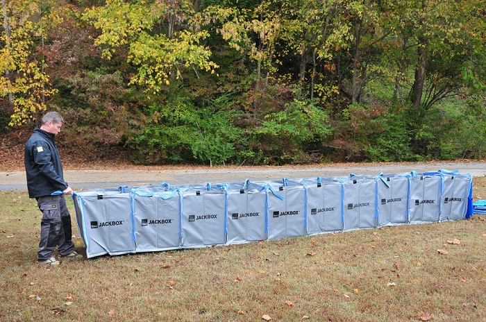 HESCO Jackbox Single Flood Protection Unit