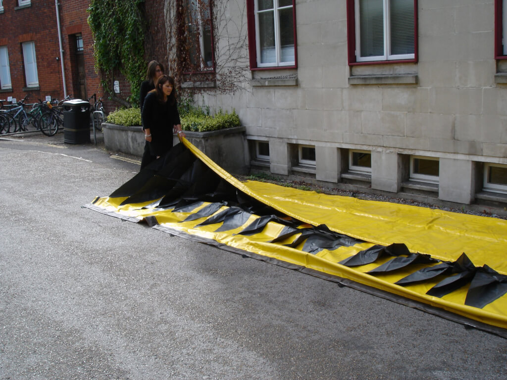 Flood Barriers for homes Alteau Mobile Flood Barrier