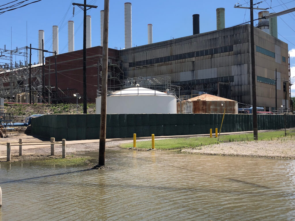 Flood Defense Group Protects Oil & Gas Facilities