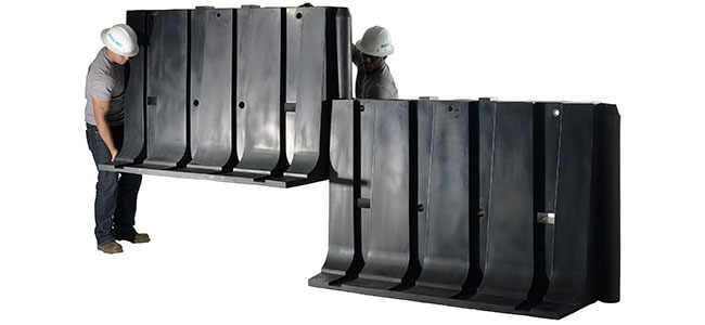 Connecting 4ft Flood Barriers - Muscle Wall