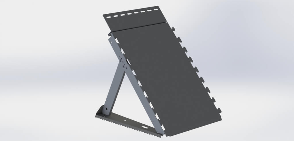 INERO Flood Barrier with Height Extension